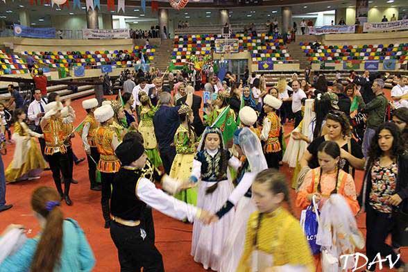 21. Türk Dünyası Çocuk Şöleni Büyük Gösterisi