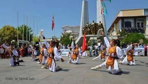 21. Türk Dünyası Çocuk Şöleni Tanıtım Gösterisi