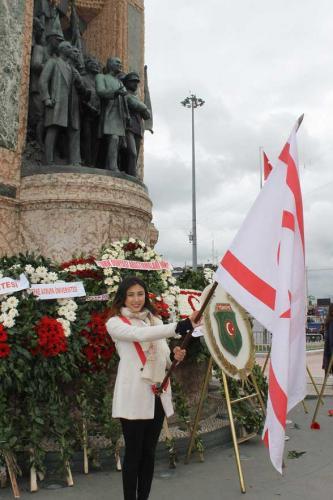 Kuzey Kıbrıs Türk Cumhuriyeti'nin Kuruluşunun 33. Yıldönümünü  Kutladık