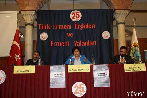 Turan Kültür Merkezi - Türk-Ermeni İlişkileri ve Ermeni Yalanları