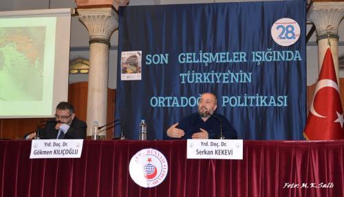 Turan Kültür Merkezi - Suriye'deki Son Gelişmeler Işığında Türkiye'nin Orta Doğu Politikası