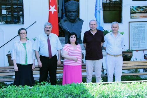 Kırgızistan Bişkek'teki Türkel Fonuyla İşbirliği